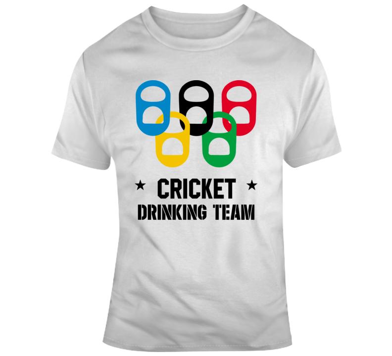 Cricket Drinking Team T Shirt