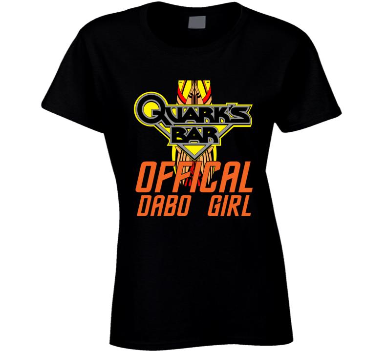 Star Trek Quark's Dabo Girl Ladies T Shirt