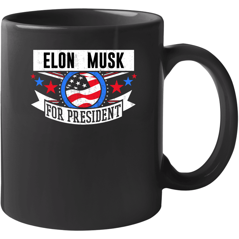 Elon Musk For President Mug