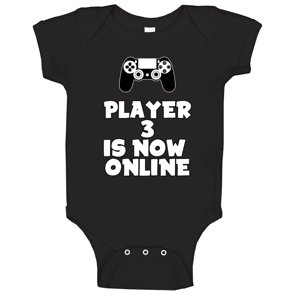 Player 3 Is Now Online Baby On Piece Baby One Piece