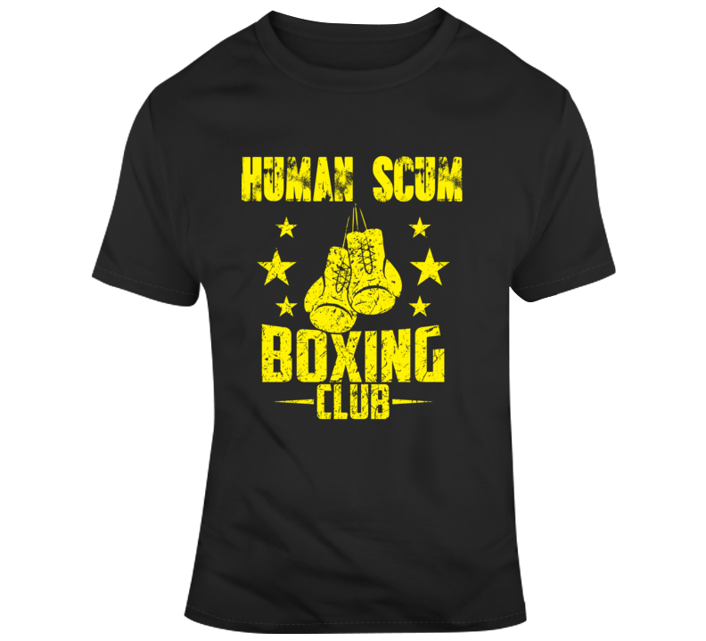 Trump Human Scum Boxing Club T Shirt