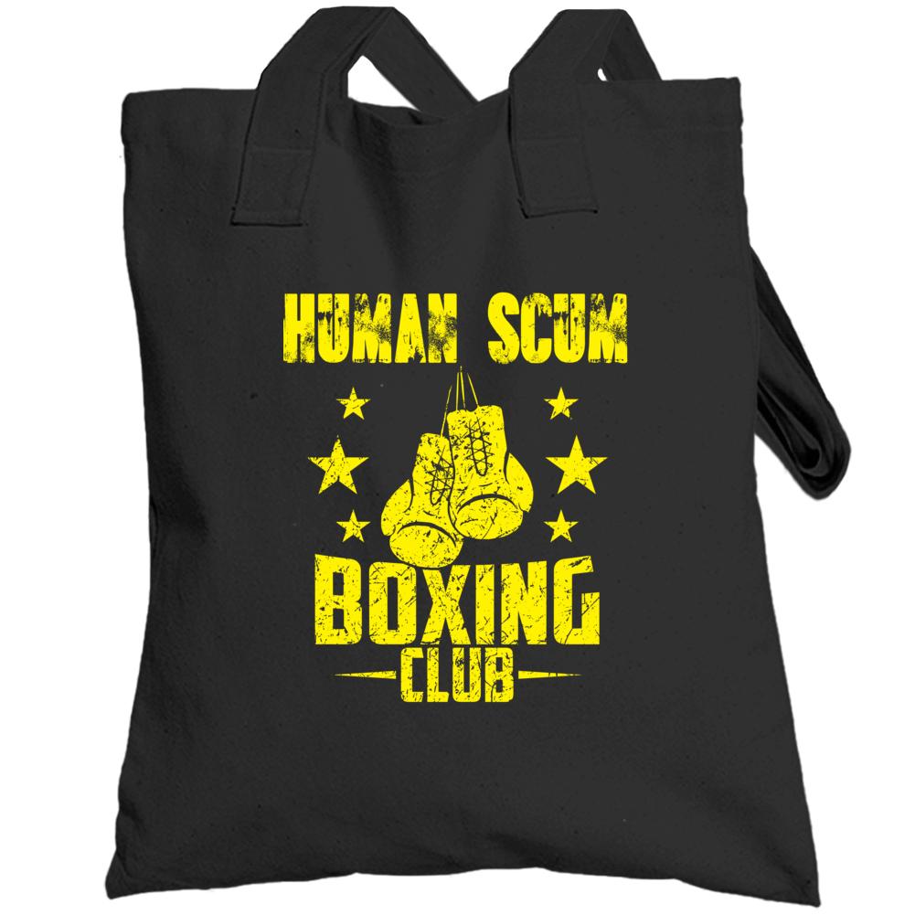 Trump Human Scum Boxing Club Totebag