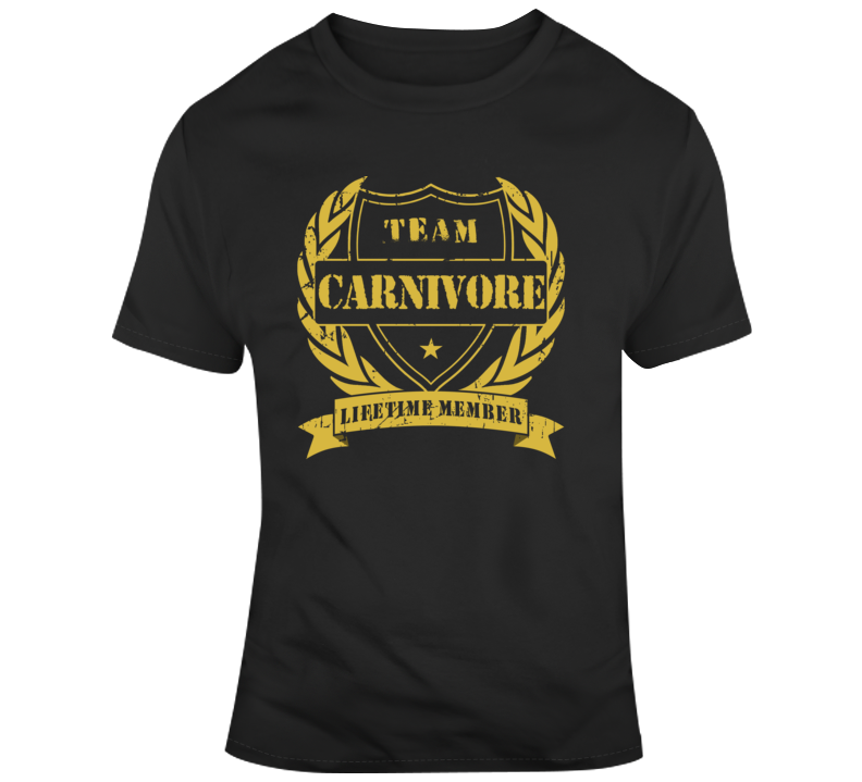 Team Carnivore T Shirt