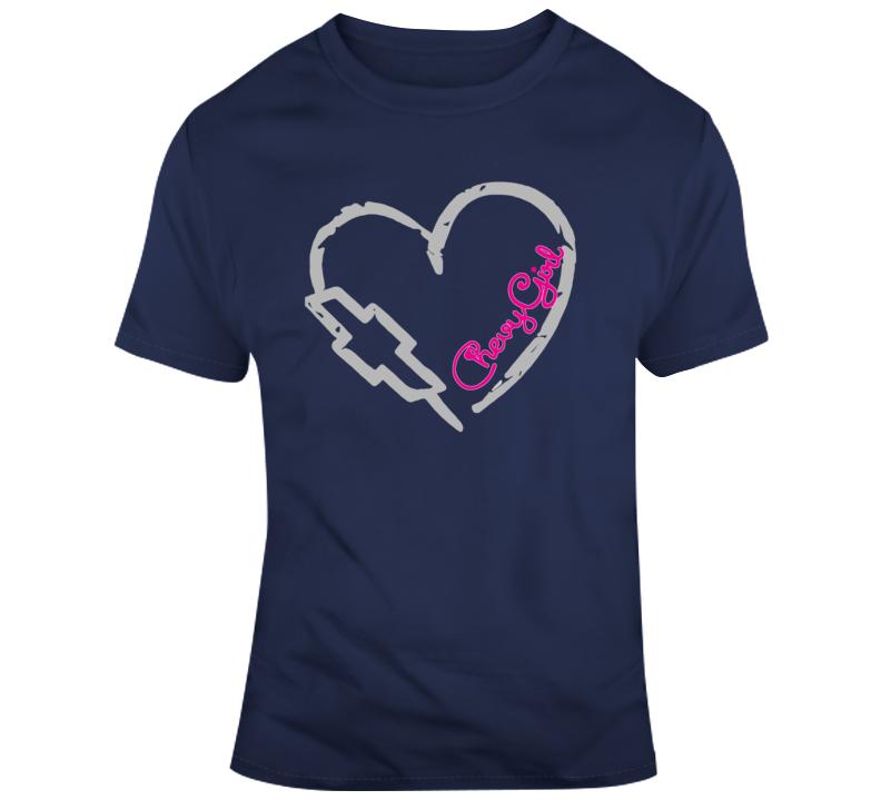 Chevy Girl 3 T Shirt