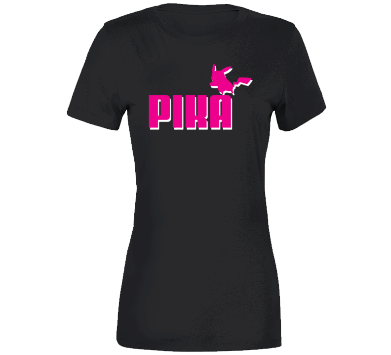 PikaPika-CHOO Ladies T Shirt