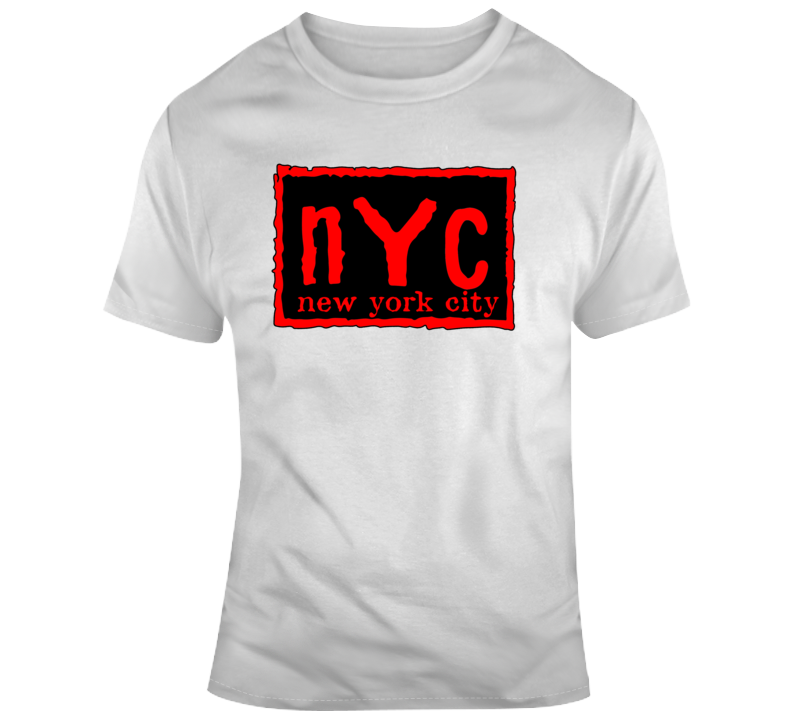 Nyc New York City Red  T Shirt