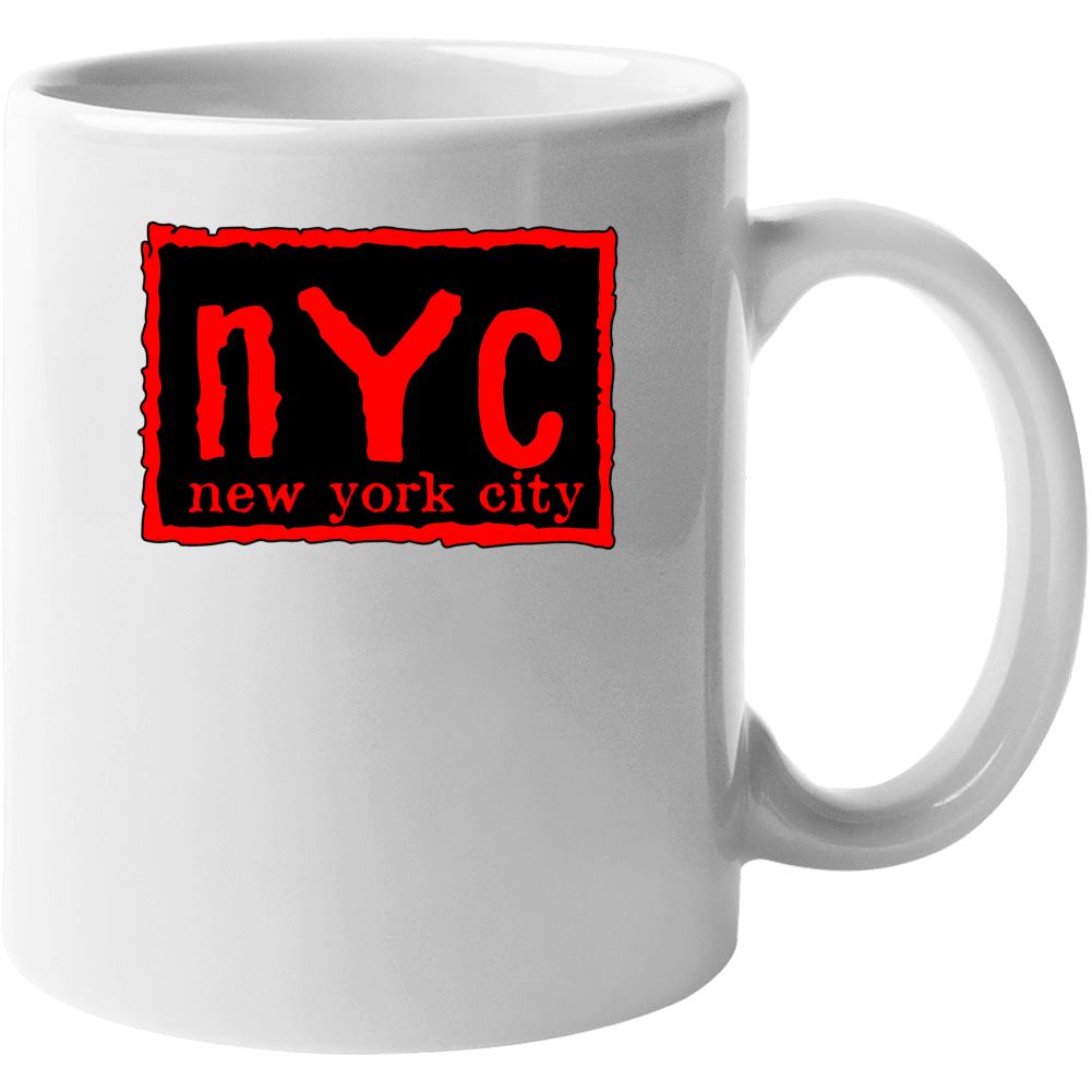 Nyc New York City Red Mug