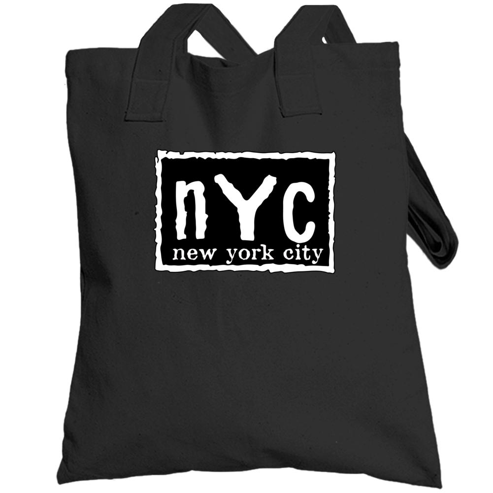 Nyc New York City White Totebag