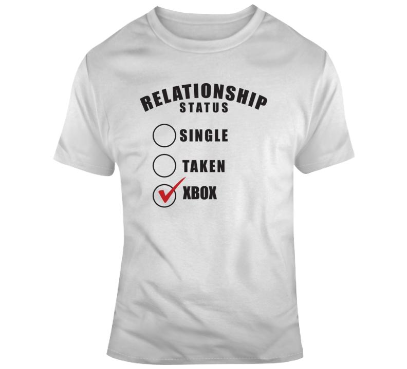 Relationship Status Xbox T Shirt