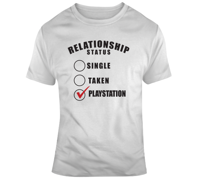 Relationship Status Playstation  T Shirt