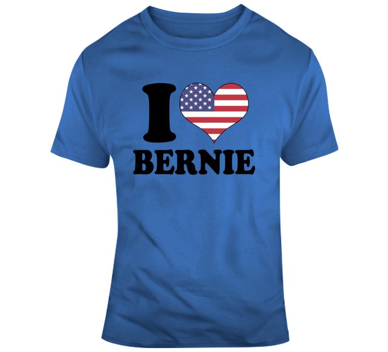 I Heart Bernie Sanders 2 T Shirt