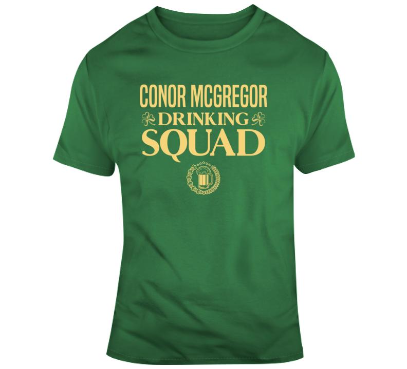 Conor Mcgregor Drinking Squad T Shirt