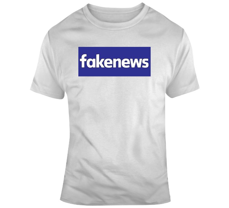 Facebook Fakenews T Shirt