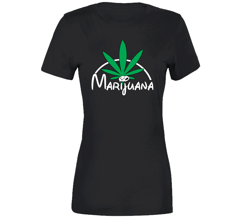 Marijuana Kingdom Ladies T Shirt