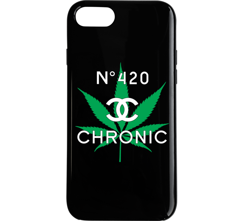 Chronic No 420 Phone Case