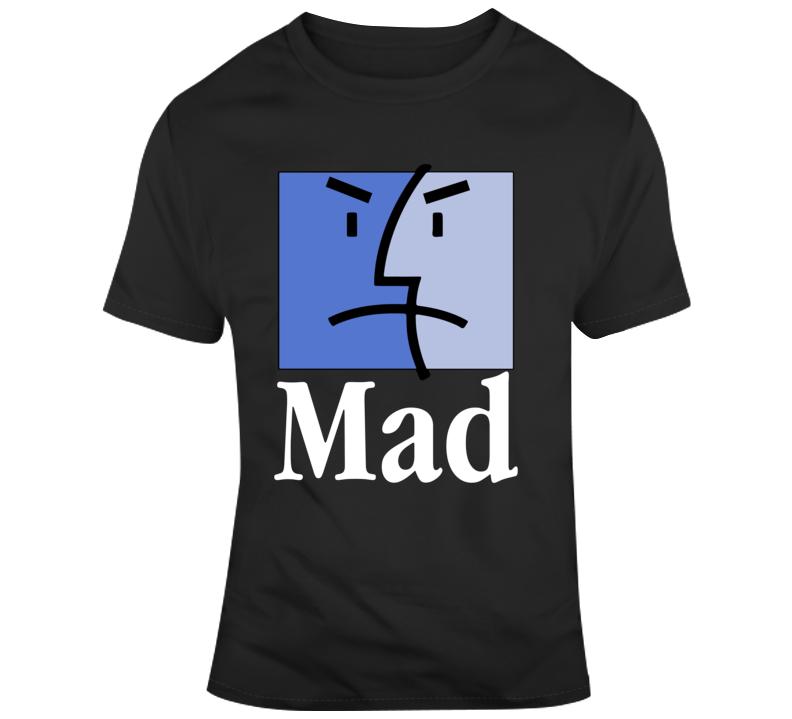 Mac Mad Finder Face T Shirt