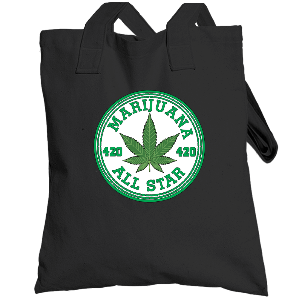 Marijuana All Star Totebag