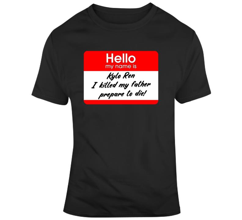 Hello My Name Is Kylo Ren T Shirt