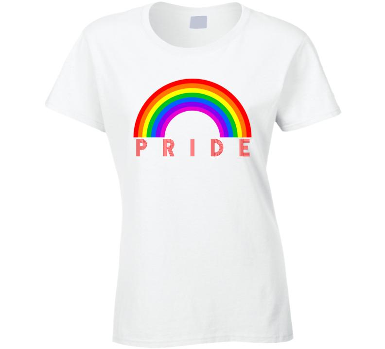 Gay Pride 2020 Ladies T Shirt