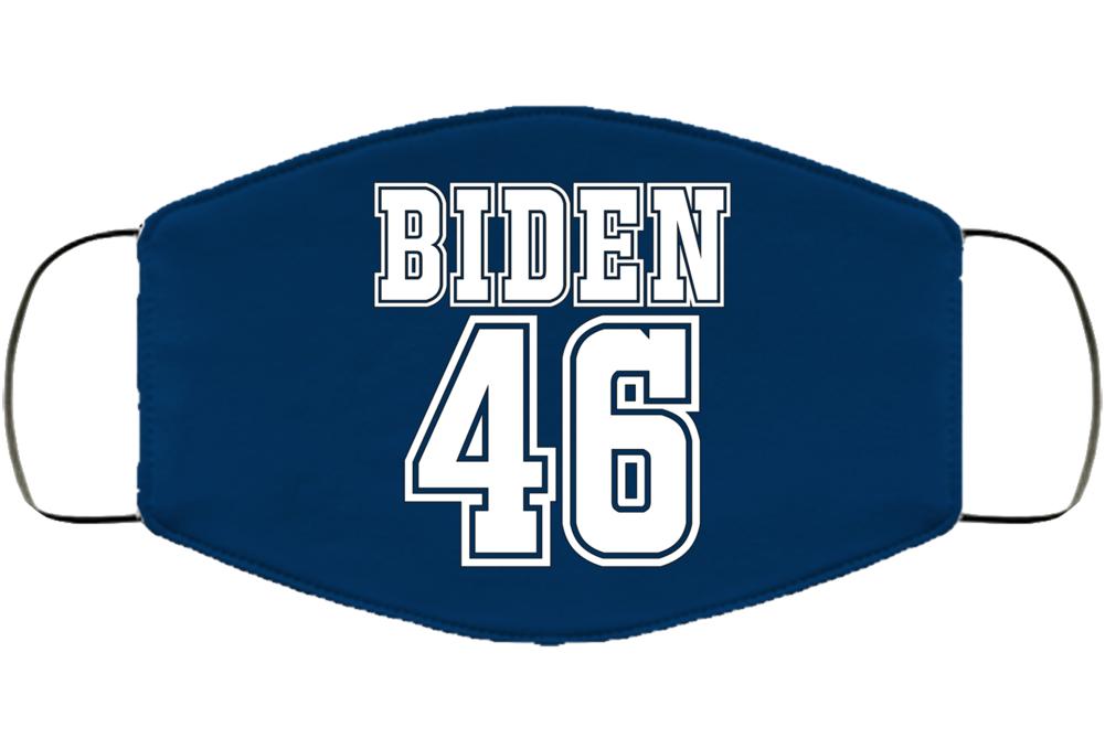 Biden 46 Facemask Face Mask Cover