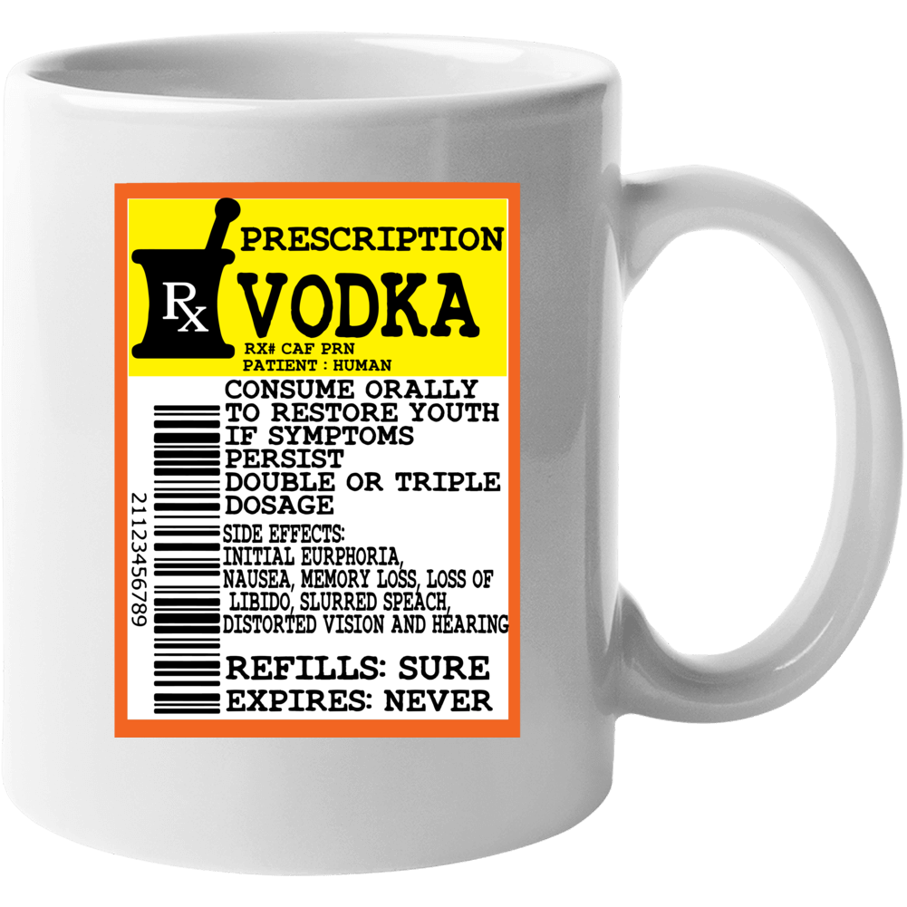 Prescription Vodka Mug