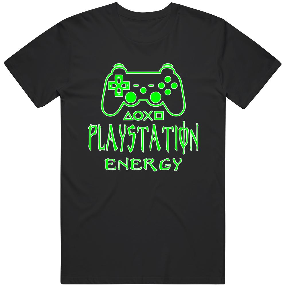 Playstation Energy  T Shirt
