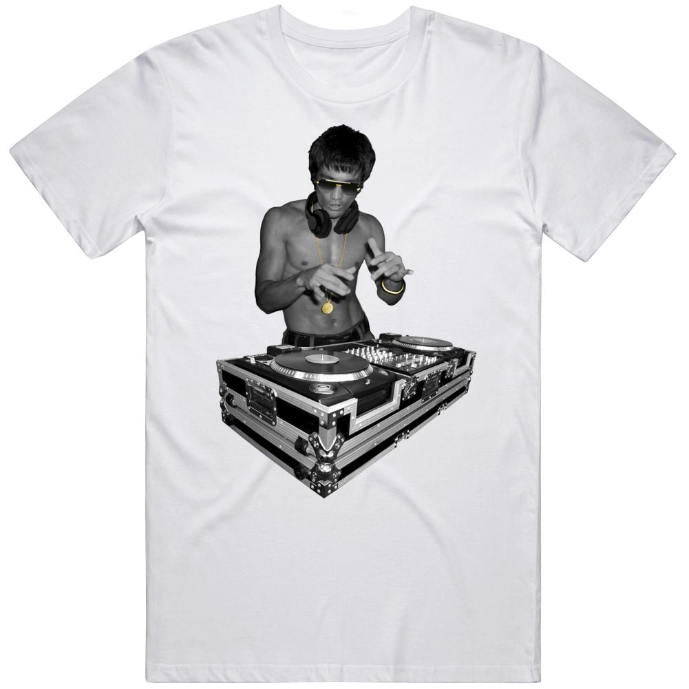 Bruce Lee Dj T Shirt