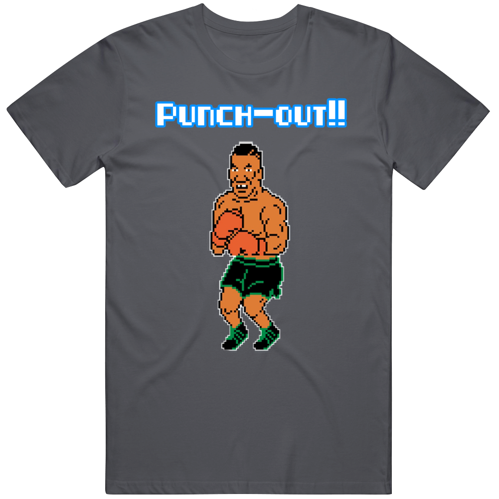 Mike Tysons Punchout Nes T Shirt