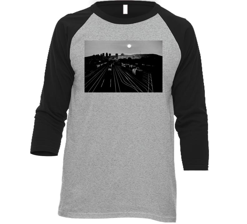 B & W T Shirt