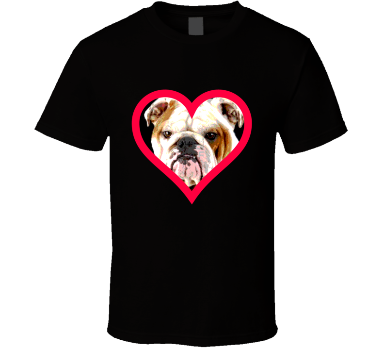 Bulldog Big Face T Shirt