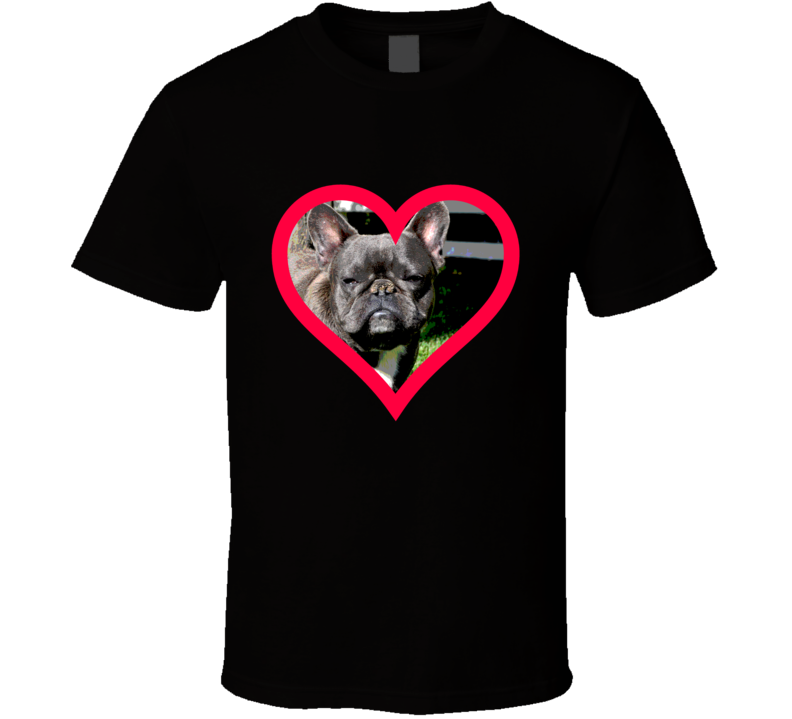 French Bulldog Big Face T Shirt