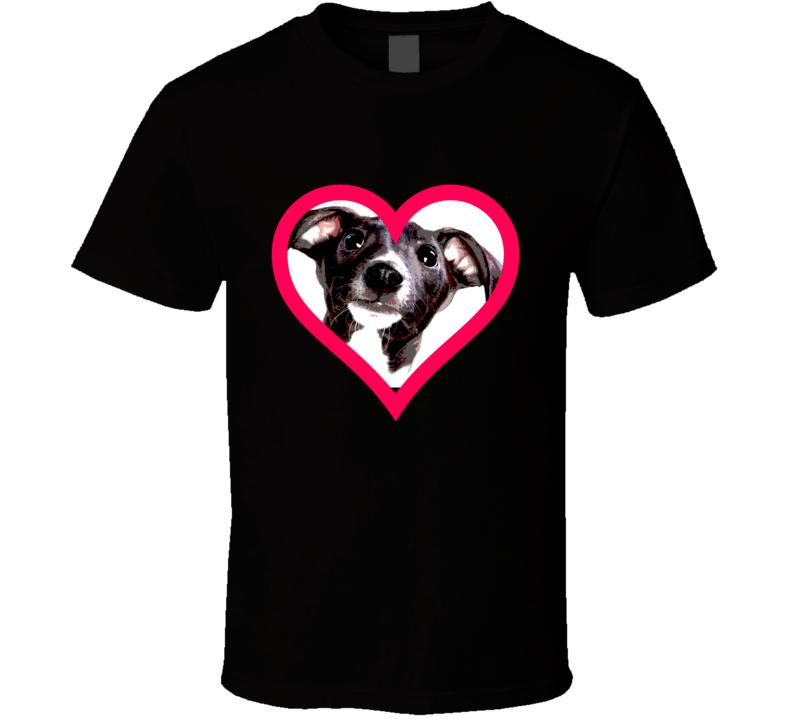 Italian Greyhound Big Face T Shirt