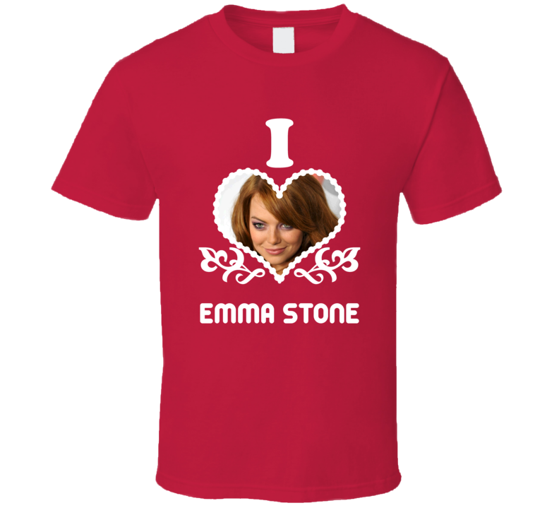 Emma Stone I Heart Hot T Shirt