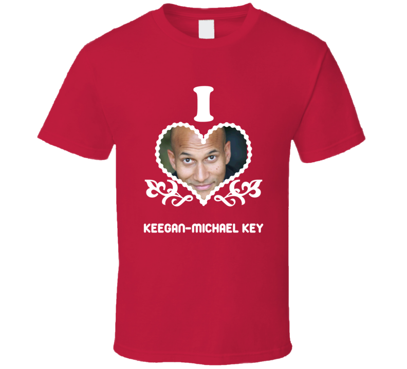Keegan-Michael Key I Heart Hot T Shirt