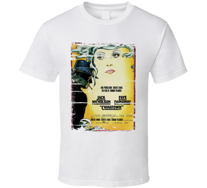 Chinatown  Classic Movie Poster Aged Look T Shirt