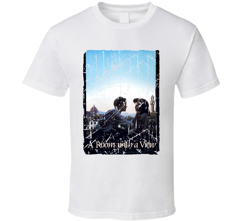 A Room With A View Movie Poster Retro Aged Look T Shirt
