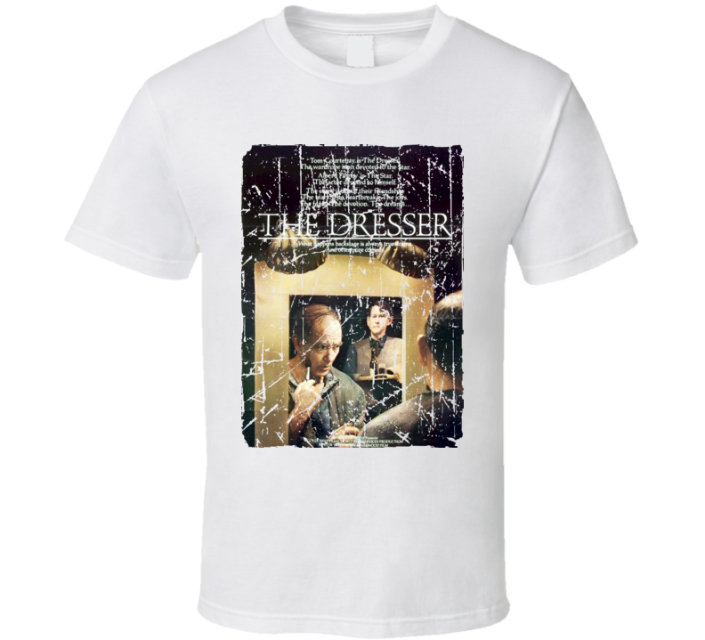 The Dresser Movie Poster Retro Aged Look T Shirt