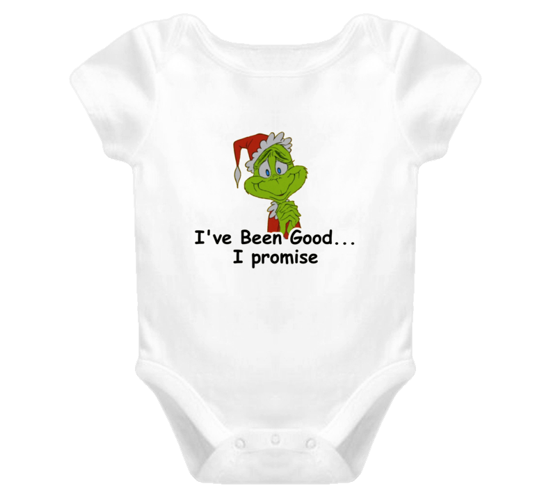 Grinch Christmas baby one piece, onesie T Shirt