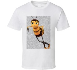 Bee Movie Script T Shirt Unisex Xsm-6xl Funny Character Awesome Tee
