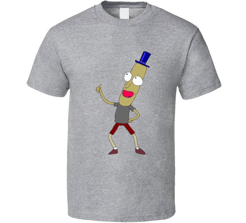 Mr. Poopybutthole T Shirt Rick and Morty Funny Standard Xsm-6xl Tee