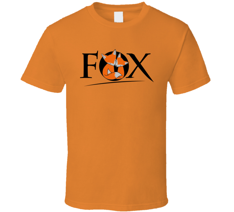 Twin Fox the Quick Orange Red Fox T Shirt Classic Xsm-6xl Cute Tee