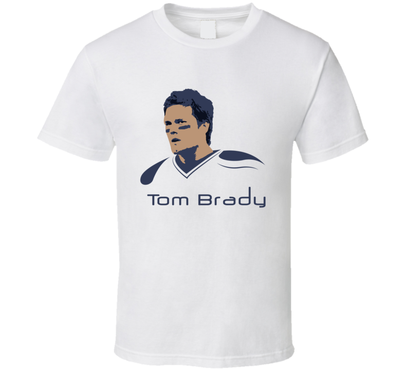 Tom Brady T Shirt New England Patriots Nfl  Super Bowls Goat Tee Top