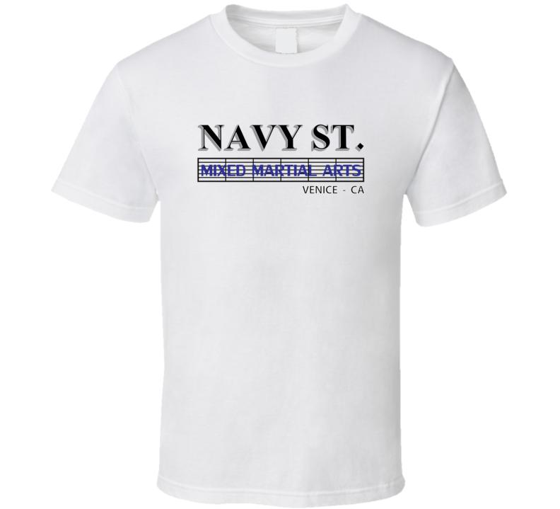Navy St. Mma T Shirt Xsm-6xl Inspired Mixed Martial Arts Classic Tee