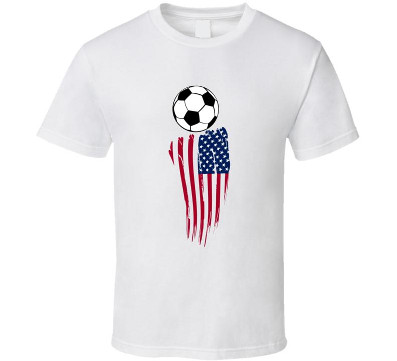 Soccer T Shirt Usa Flag Football Fifa Unisex Xsm-6xl Vintage Top Tee