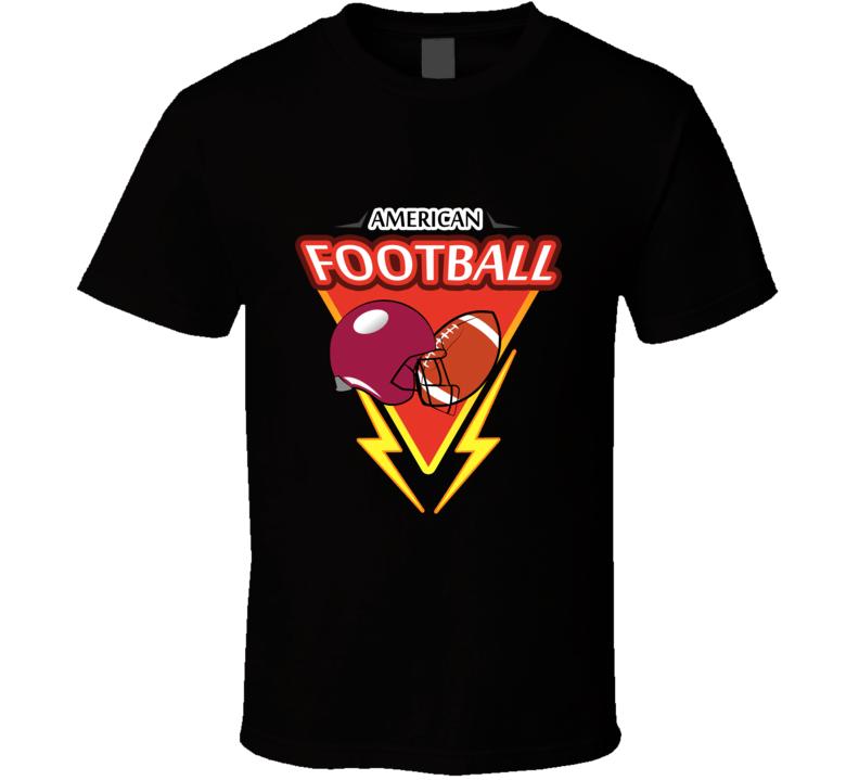 American Football T Shirt Varsity Athletic Soulstar Mesh Summer Tee