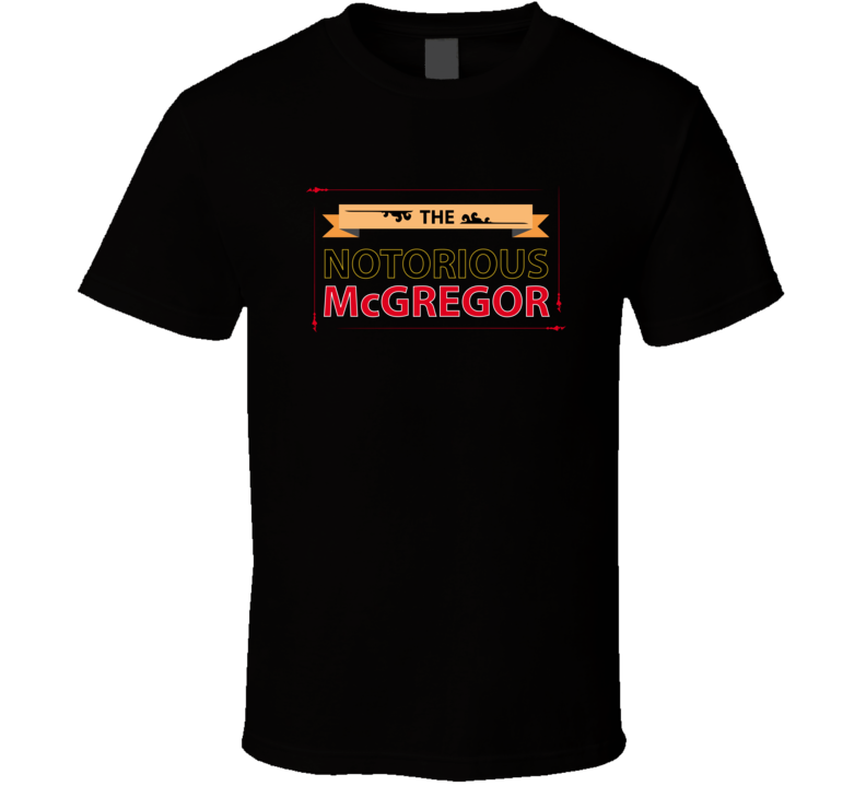Conor Mcgregor T Shirt The Notorious UFC MMA Irish Champ Fighter Flag