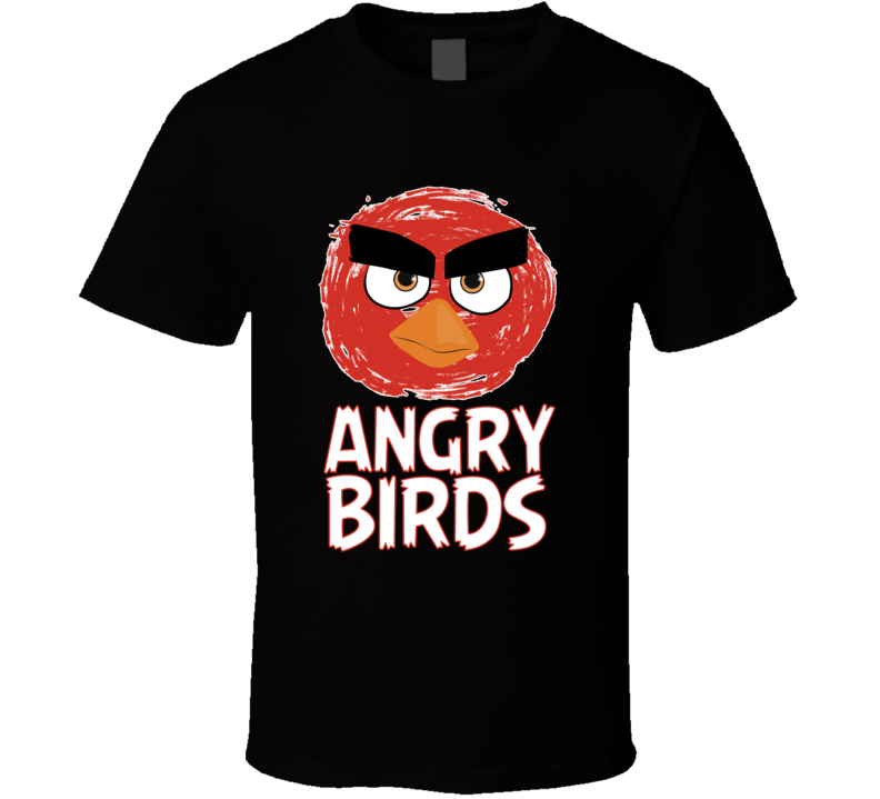 de33258d Angry Bird T Shirt I'm The Bomb Angry Birds Movie Cartoon Unisex Top