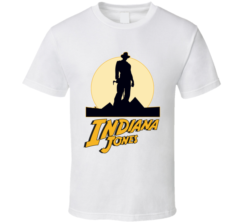 Indiana Jones T Shirt Raiders of the Lost Ark In Case Of Emergency Top