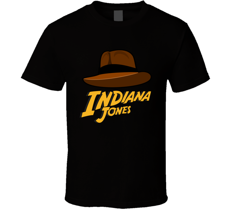 Indiana Jones T Shirt Raiders of the Lost Ark Harrison Ford Hat Top T