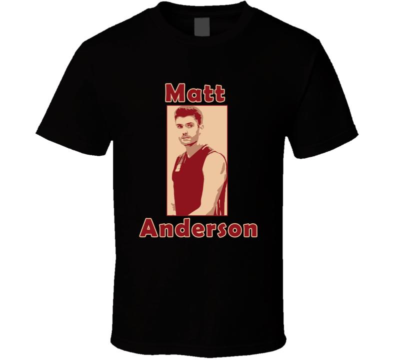 Matt Anderson Volleyball T Shirt Atlanta Olympics Rio 2016 Unisex Top